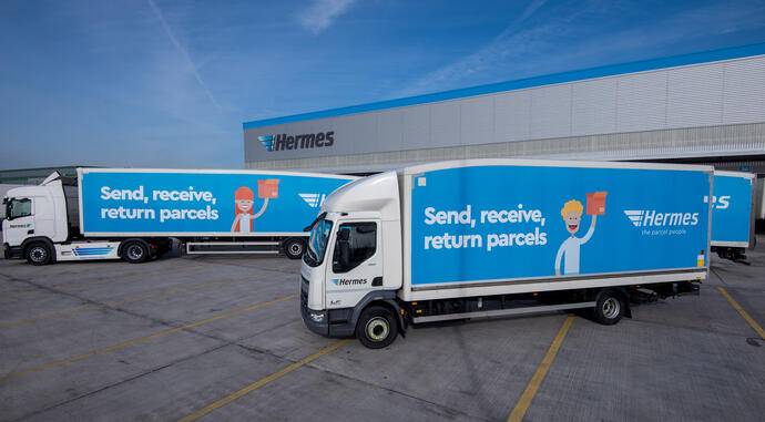 Hermes new trailer and rigid